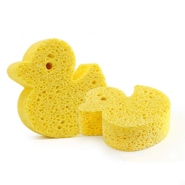 Baby Infant Shower Faucet Wash Bath Brushes Cartoon Baby Bath Puff High Absorbent Animal Shape PVA Sponge 4 Types Available