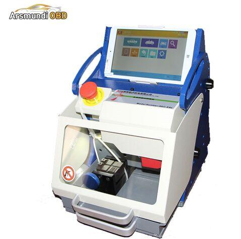 DHL Original Used Key Cutting Machine Miracle SEC-E9z Free Upgrade Portable Locksmith Tools High Security Car Key Machine