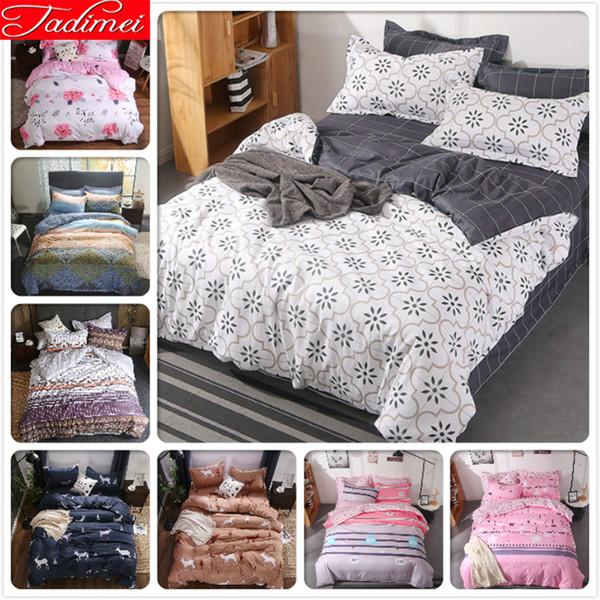 Großhandel Creative Plain Bettbezug 34 Stück Bettwäsche Set