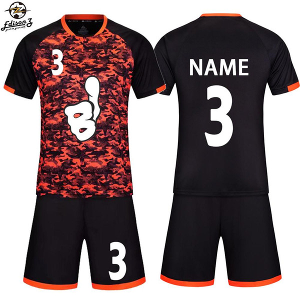 52ba3e84185 Survetement Football jerseys kids men blank soccer jerseys set football  training jerseys suits boys sports football uniform