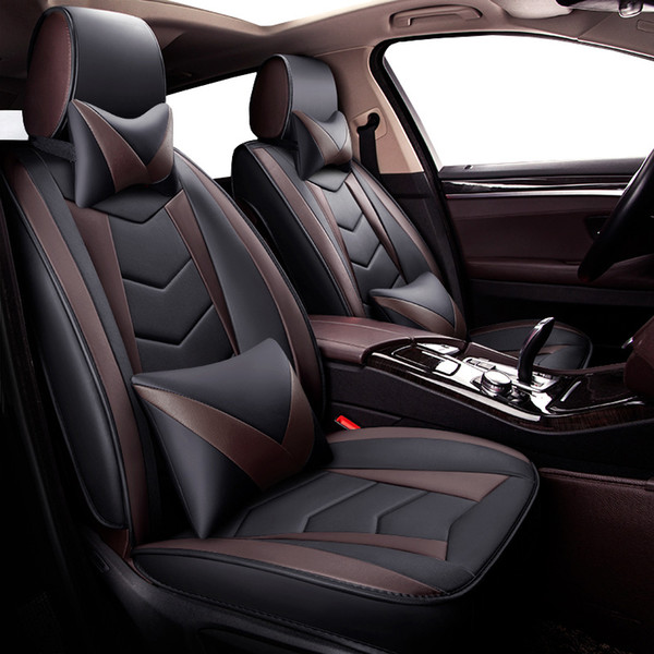Strange New Universal Pu Leather Car Seat Covers For Fiat 500 500L 500X Punto Uno Albea Bravo Fiorino Grande Punto Linea Marea Panda Leather Truck Seat Covers Alphanode Cool Chair Designs And Ideas Alphanodeonline