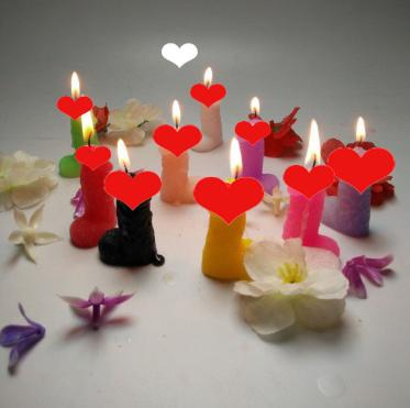 new candle spoof small candle 1pcs low temperature smokeless wax funny supplier for sexing