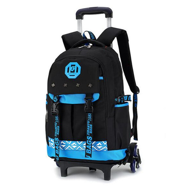 bf14b1b19801 2019 26L Boys Kids Children Travel Luggage School Bag Trolley Backpack With  Three Wheels Ladies Laptop Trolley Bag From Jetboard, &Price;   DHgate.Com