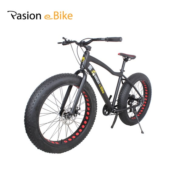 "wholesale 17*26"" Unisex bicicleta mountain bike Aluminum Alloy MTB Bicycle Frame 26*4.0 Fat Bike tire with fender"