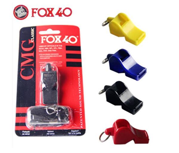 FOX40 Whistle Plastic FOX 40 Soccer Football Basketball Hockey Baseball Sports Classic Referee Whistle Survival
