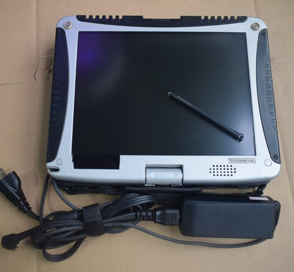 car diagnostic computer cf-19 toughbook cf19 touch screen 4g second hand with battery without hdd mb star c4 c5 for b/m/w icom