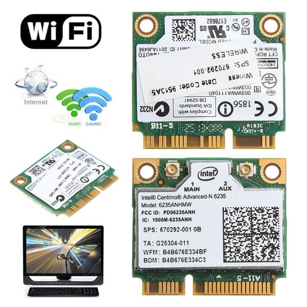 Dual Band 2.4G/5G 300M 802.11a/b/g/n WiFi Bluetooth 4.0 Wireless Half Mini PCI-E Card For Intel Centrino Advanced-N 6235ANHMW