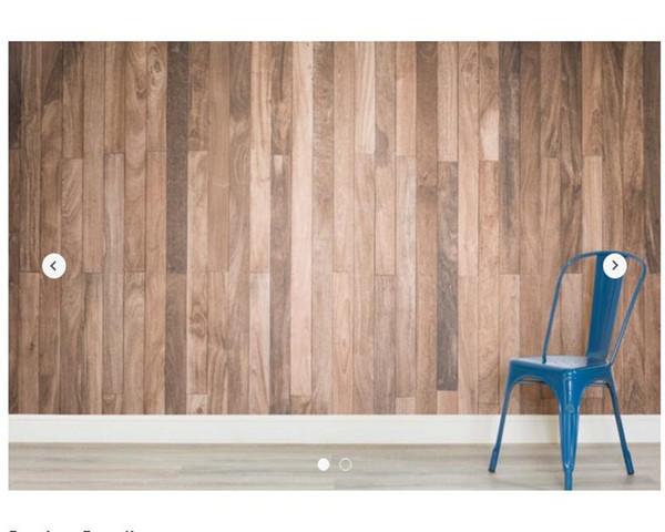 Custom texture wallpaper,Sanded Wooden Flooring Texture for living room bedroom restaurant hotel KTV backdrop decorative paper