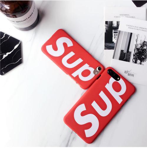 Moda EE. UU. Calle Sup mate cubierta de plástico duro caso de Japón marca de tendencia para el iphone 5 5S SE 6 6S más 7 7plus 8 8plus X XS XR Max 10 Los mejores casos