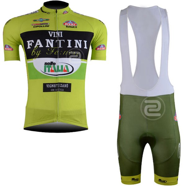 FANTINI team Cycling Short Sleeves jersey bib shorts sets clothing breathable outdoor mountain bike free delivery U42522