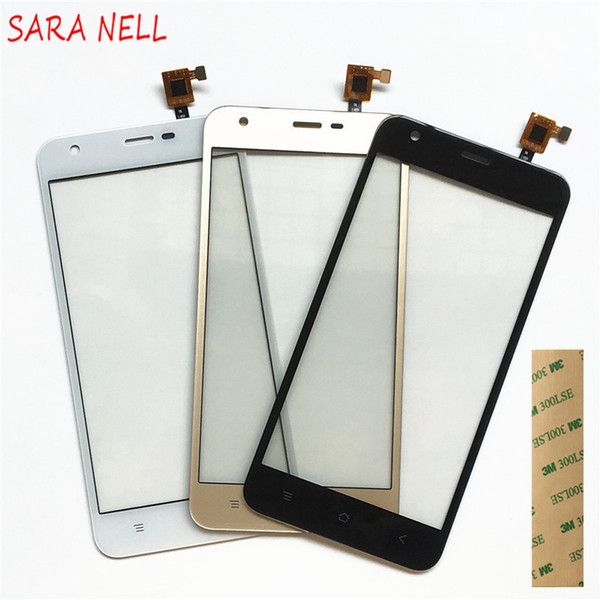 SARA NELL Phone Touch Screen Panel Sensor Front Glass For BlackView A7 A7 pro Touchscreen Digitizer Front Glass +tape