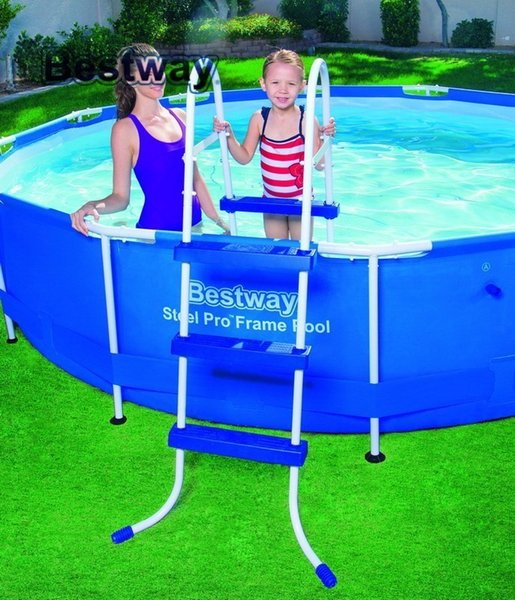 2019 58334 Bestway 91cm Safety Pool Ladder For Asia,Africa,America 36  Inches AGP Ladder For Swimming Pool Of Height Less Than 107cm From  Funtastic, ...