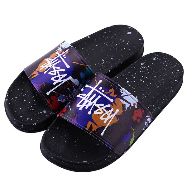 c51986e8f Designer Slippers New Brand Letters Desinger Slides Mens Flip Flops Summer  Fashion stus women shoes