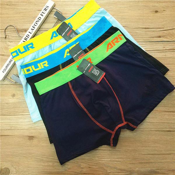 top popular DHL Newest Fashion comfortable children underwear trend underwear cotton Lycra cotton underwear shorts casual pants S047 2019