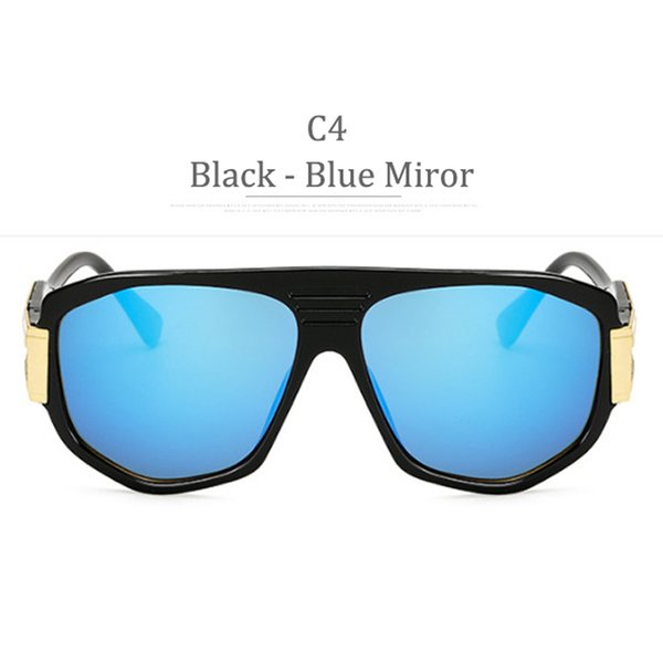C4 Black Frame Blue Miror