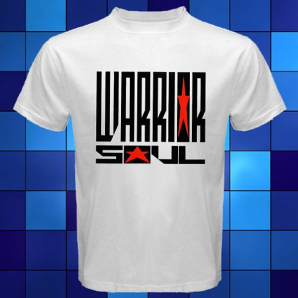 Fashion Funny Tops Tees Warrior Soul 90's Hard Rock Band White T-Shirt Size S to 3XL New Arrivals Casual Clothing