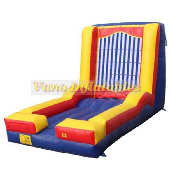6x4x4m Inflatable Sticky Wall Hook and Loop Wall Fun Jumper Sport Games Commercial PVC with Blower Free Postage