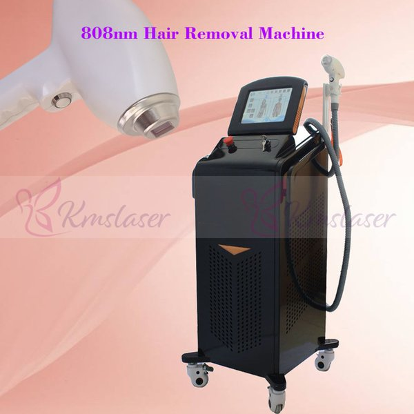2018 Newest Popular 808nm diode laser equipment with 808 nm wavelength for all skin type hair removal with free shipping