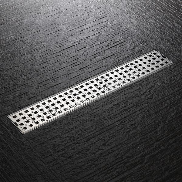304 stainless steel floor drain rectangular bathroom shower room deodorant drain