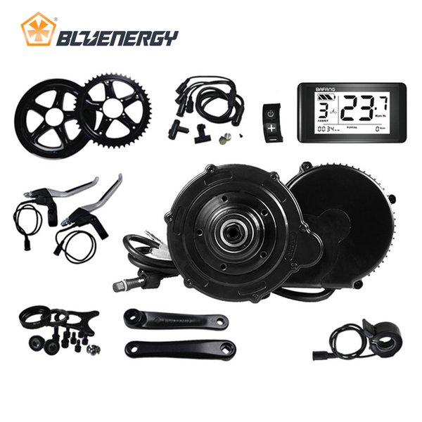 8fun Bafang BBS BBS01 BBS01B Electric Bicycle Mid Drive Motor Conversion Kits For Electric Bike 36v 250w Brushless Motor 68mm