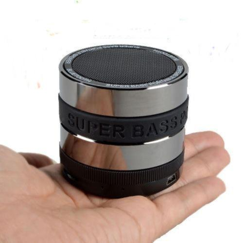Bluetooth Wireless Speaker Mini Portable Super Bass Round Lens Style Metal For Smartphone Tablet MP3 PC iPhone Samsung