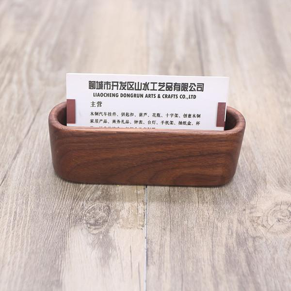 Großhandel Holz Halter Fall Speicherkartenbox Organizer Büro Desktop Name Kartenständer Für Schreibtisch Visitenkartenhalter Von Unluckilybear 2 64