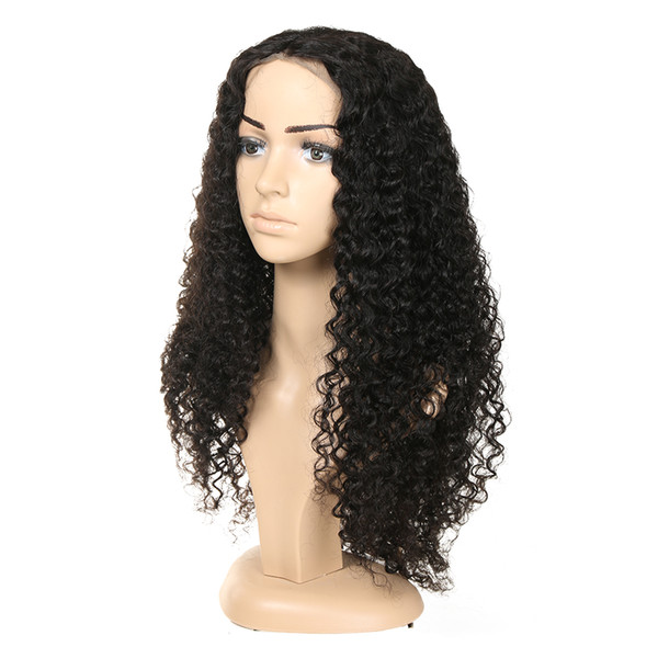 Malaysian Human Hair Wigs Jerry Curly 360 Full Lace Wig Virgin Perruques de cheveux humains silk base full lace wig
