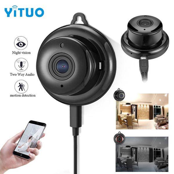Full HD 720 P Mini Câmera WIFI Sem Fio Câmera IP Visão Noturna Mini Filmadoras Kits para Vigilância de Segurança Em Casa CCTV Duas Maneiras Áudio YITUO