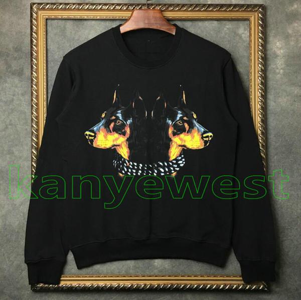 2019 moda outono marca de luxo clothing mens hoodies impressão de alta qualidade das mulheres jumpers esporte casaco de grife camisola topos