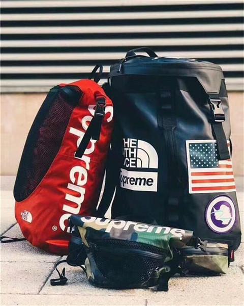 best selling 2018 Backpack FACE Lovers Travel Duffel Bags School Shoulder Bags Stuff Sacks Sports Backpacks Outdoor Handbag Free Shipping