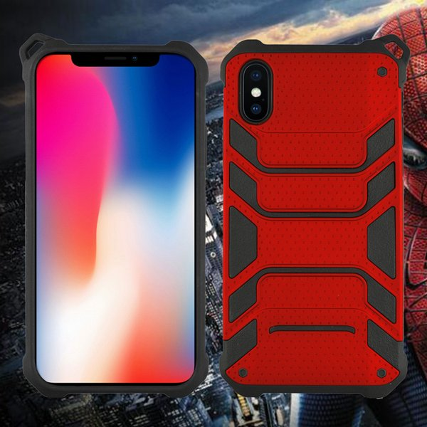 Latest Armor Hybrid for samsung galaxy s8 case Spiderman duty phone case 2 in 1 TPU+PC shockproof mobile case cover back shell