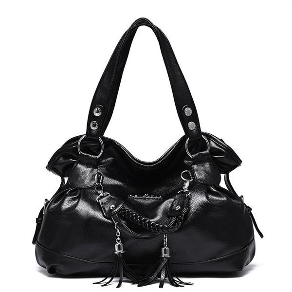 New Luxury Handbags Women Bags Designer Women's Soft Leather Handbag Big Casual Tote Bag Ladies Shoulder Bag sac Large Capacity