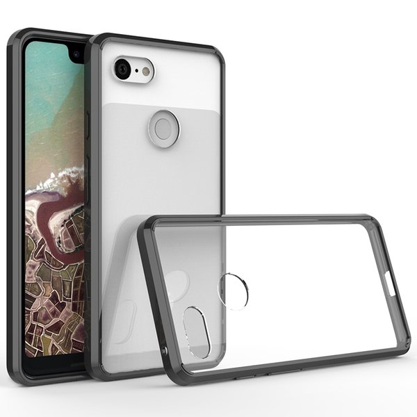 For Samsung Galaxy Note 9 J8 2018 J7 Duo Crystal soft TPU bumper Clear Transparent Phone Case For Google Pixel 3 XL