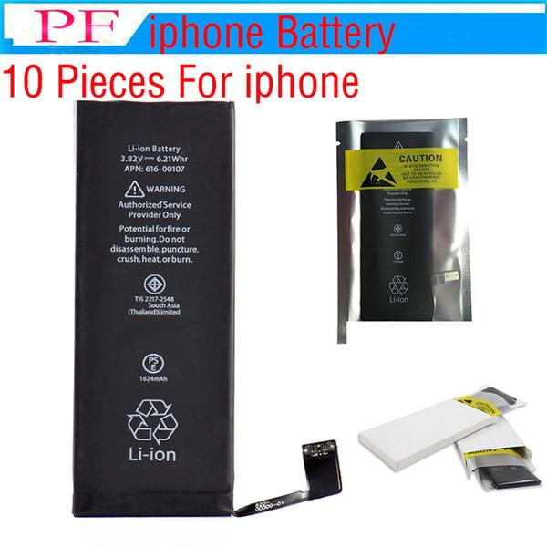 50 P Top-Qualität Akku für Apple iPhone 5 g 5 s 5 c 6 g 6 s 6 plus 7 g 7 8 plus Batterien Ersatz Strong Flex 0 Cycle