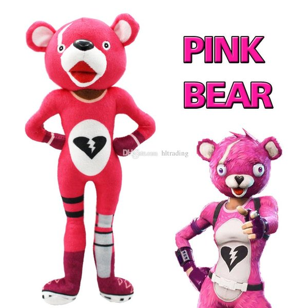 2018 new Plush toys cartoon Pink bear Stuffed Animals 30cm/12 inches for children Christmas gift C4980