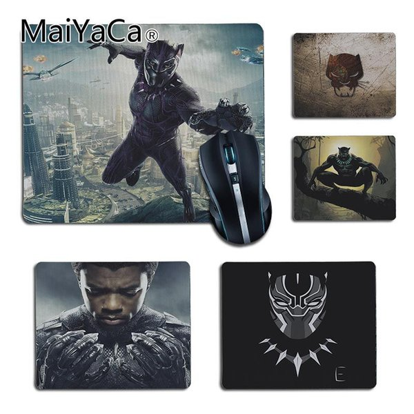MaiYaCa 2018 New Marvel Comics Black Panther Comfort small Mouse Mat Gaming Mouse pad Size 25x29cm 18x22cm Rubber Mousemats