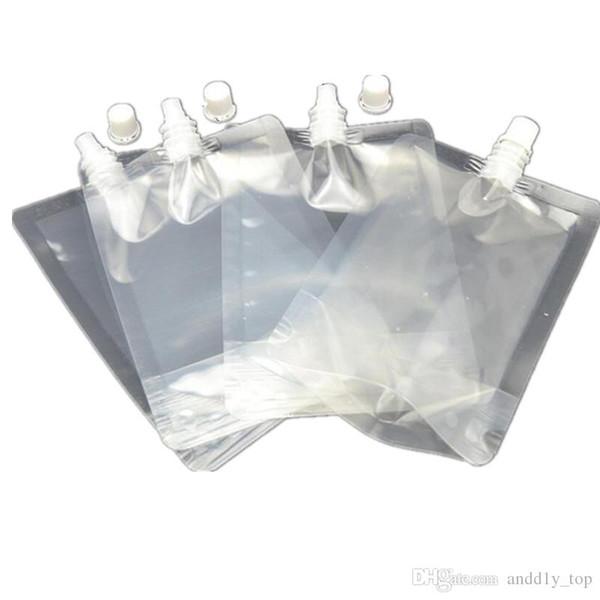 250 ml Stand-up Kunststoff Trinken Verpackung Beutel Auslauf Beutel für Saft Milch Kaffee Getränke Flüssigkeit Verpackung tasche