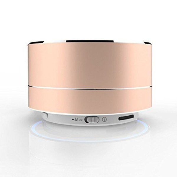 NEW Mini Portable Bluetooth Speaker TF Card Slot Aluminium Wireless Stereo Bluetooth Speaker with Retail Box