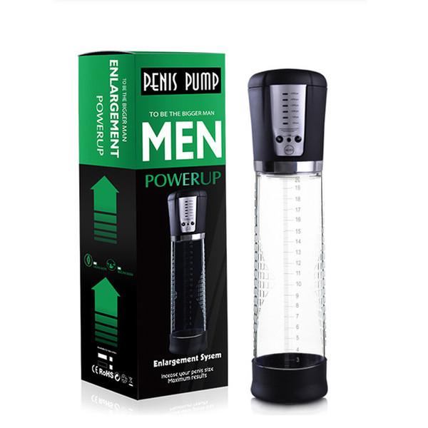 Adult Products Electric Automatic Penis Pump Rechargeable Penis Enlarger Vacuum Pump Powerful Penis Enlargement Extender Sex Toys for Men