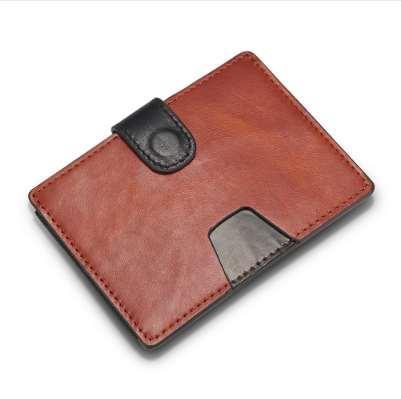 Newbring Slim Couro Titular do Cartão de Crédito Homem Compacto Mini Bolsa Dinheiro Dinheiro Mulheres Carteira Feminina Cartão de Visita ID Titular Da Luva