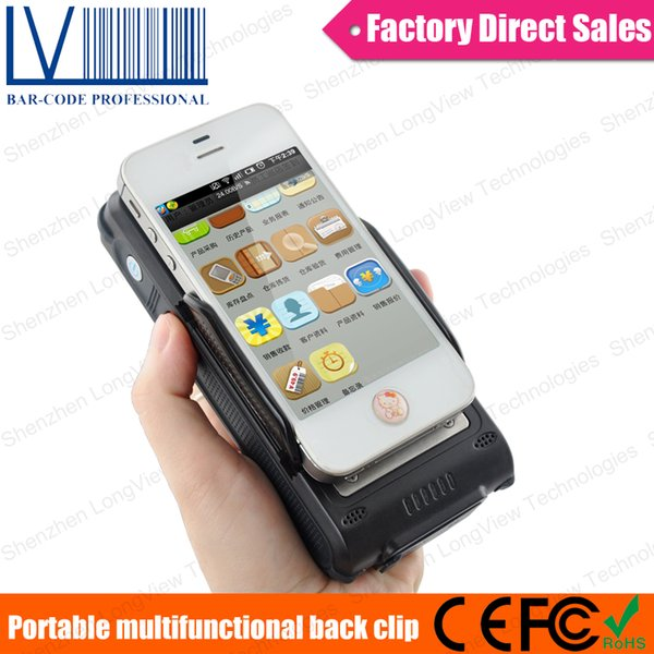 1D 2D Bluetooth Barcode Scanner Back Power Working with Phone