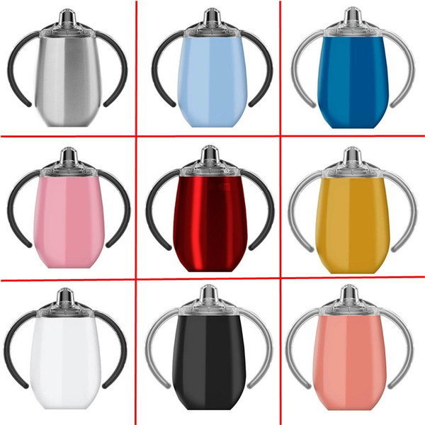 12oz kid water bottle ippy cup double walled vacuum in ulated tainle teel tumbler travel mug temle thermo