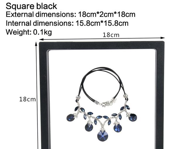 18*18*2cm black
