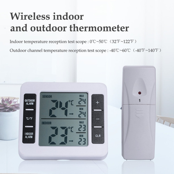 Digital Thermometer with Remote Sensor Hygrothermograph High Sensitive Hygrometer Smart Home Temperature Humidity Sensor
