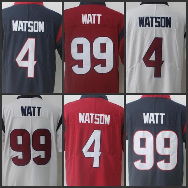 new style d14c1 9649c 2018 99 J.J. Watt Men Houston Texans Jersey 4 Deshaun Watson Limited  Jerseys Youth Women Navy Red White From Jerseysus, $21.17 | DHgate.Com