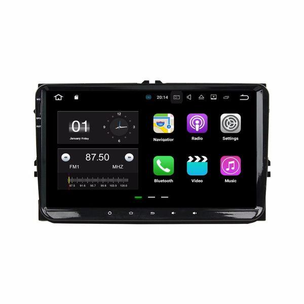 "2GB RAM Quad Core 9"" Android 7.1 Car DVD Player for VW Volkswagen Golf Polo Passat CC Tiguan Touran Bora Seat Touareg Skoda"
