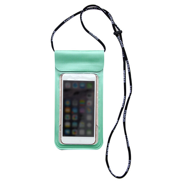 Waterproof Phone Case Cover Touchscreen Cellphone Dry Diving Bag Pouch with Neck Strap for iPhone Xiaomi Samsung