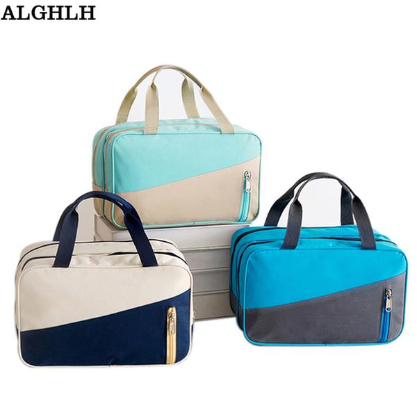 Men Travel Storage Bag Male Toiletry Bag Women Waterproof Nylon Cosmetic Wash Cosmetics Travel Organizer Beautician Make up