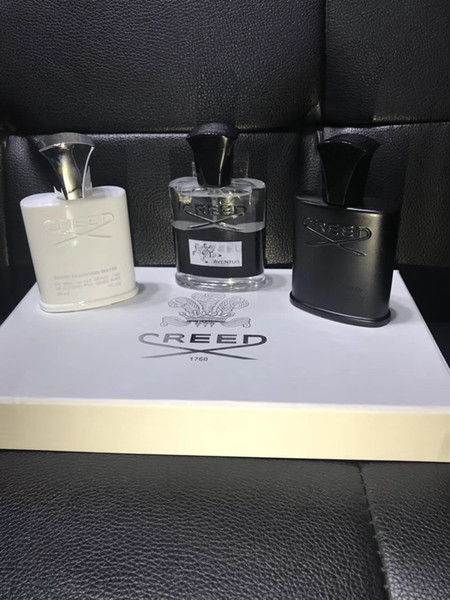 2019 Hohe Qualität für Geschenk !! Credo Silver Mountain Wasser durch Creed für Unisex 30ml * 3 Millesime Spray Perfume Set Geschenk-Box (mit Geschenk-Box)