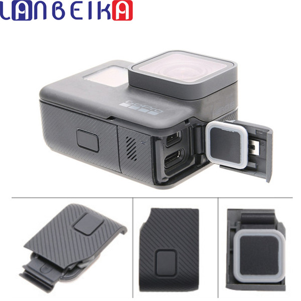 wholesale Replacement Side Door USB-C Mini HDMI Port Side Cover Repair Part for GoPro HERO5 HERO6 Hero 5 6 For Go Pro Accessories